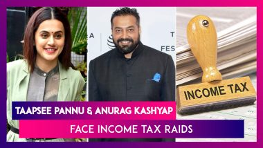 Taapsee Pannu & Anurag Kashyap's Properties Raided By The Income Tax Department